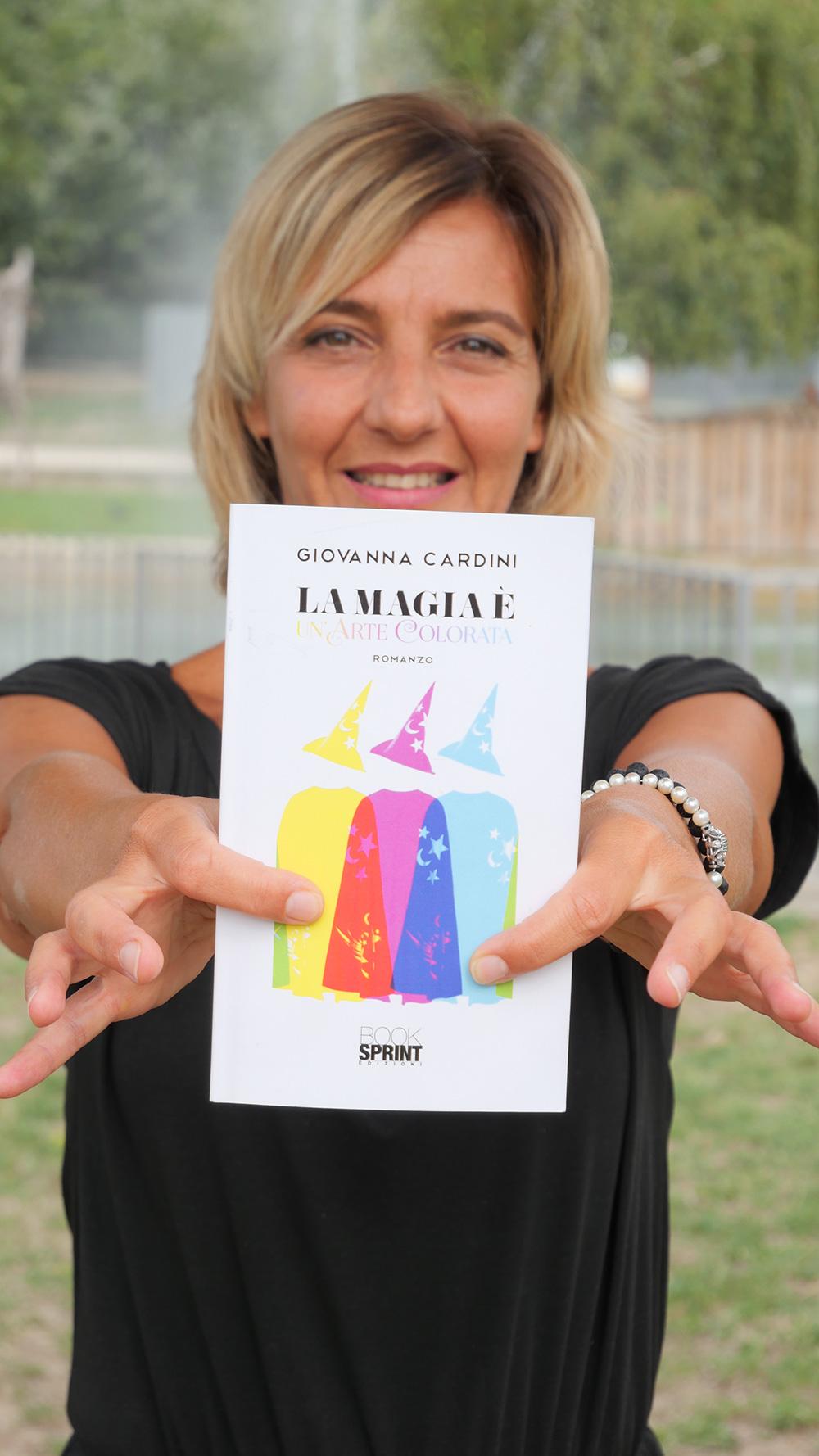 """""""La magia è un'arte colorata"""", un libro di fiabe di Giovanna Cardini per risvegliare il proprio talento"""