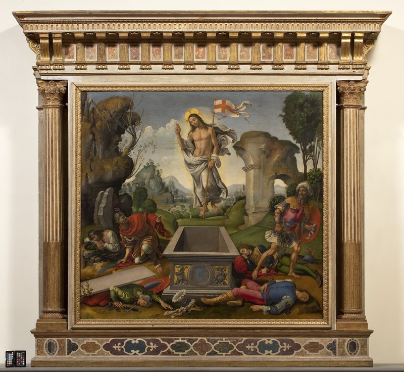 Galleria dell'Accademia di Firenze, iniziato il restauro de La Resurrezione di Raffaellino del Garbo