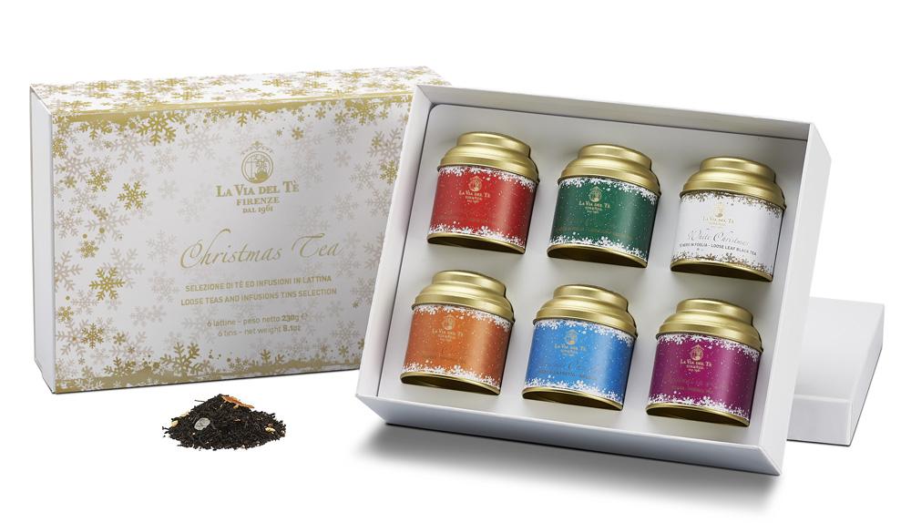 Il Natale de La Via del Tè: tè e tisane per ogni gusto