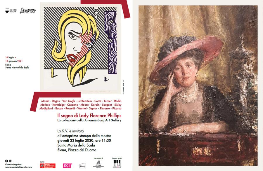 'Il sogno di Lady Florence Phillips', a Siena i quadri della collezione della Johannesburg Art Gallery