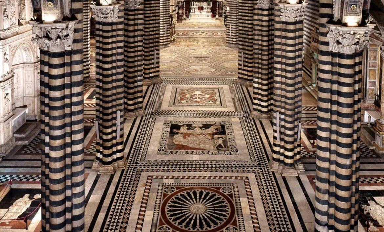 Nuova ed eccezionale apertura del Pavimento del Duomo di Siena e della Porta del Cielo