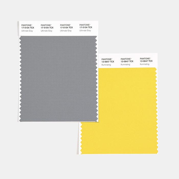 I colori Pantone del 2021: Ultimate Grey e Illuminating per accendere la speranza