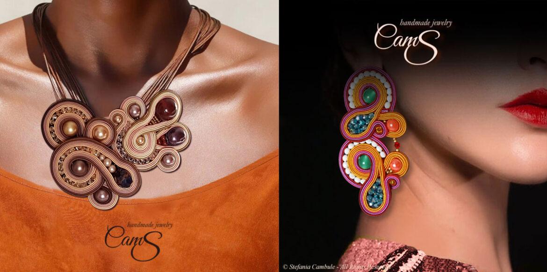 Sapete cos'è il soutache? Stefania Cambule trasforma questa antica tecnica in splendidi gioielli artigianali che richiamano i colori della sua terra, la Sardegna