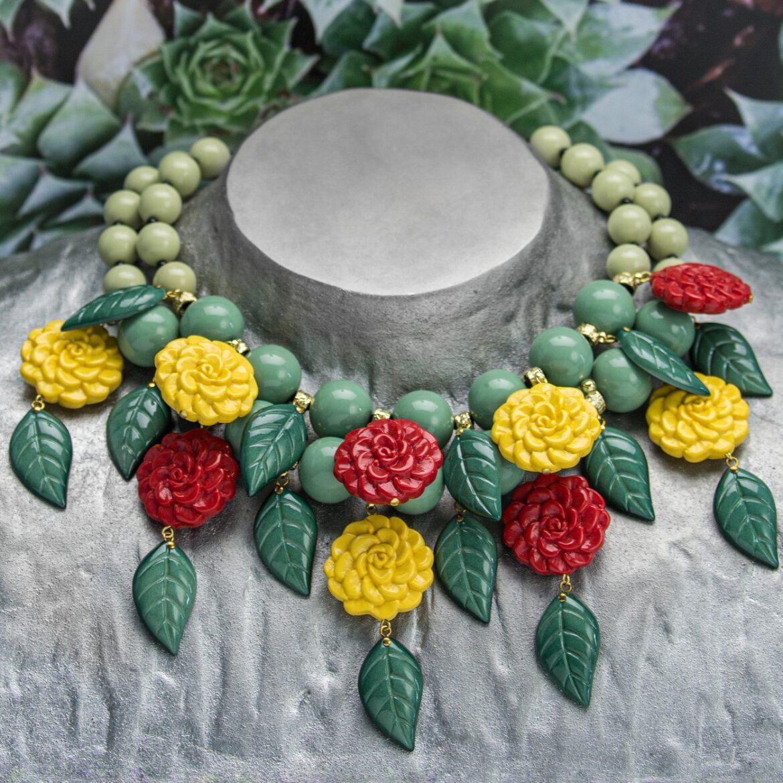 """L'allegria e il colore della nuova collezione di bijoux """"Frida Khalo"""" di Angela Caputi"""