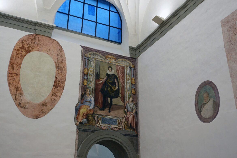 L'ampliamento degli Uffizi fa riemergere affreschi perduti del sei e del settecento