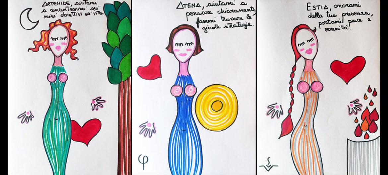 Le dee dentro la donna – Le tre dee vergini: Artemide, Atena ed Estia; archetipi della libertà