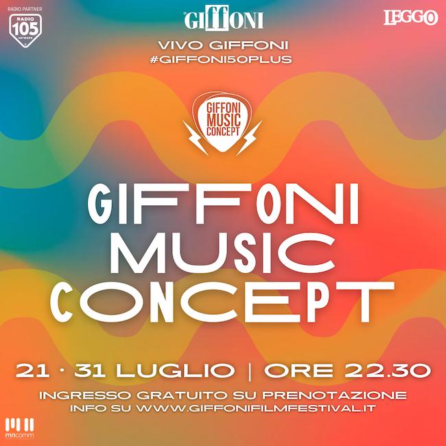 Tanti appuntamenti con la  musica italiana dal vivo al Giffoni Music Concept 2021 – Vivo Giffoni